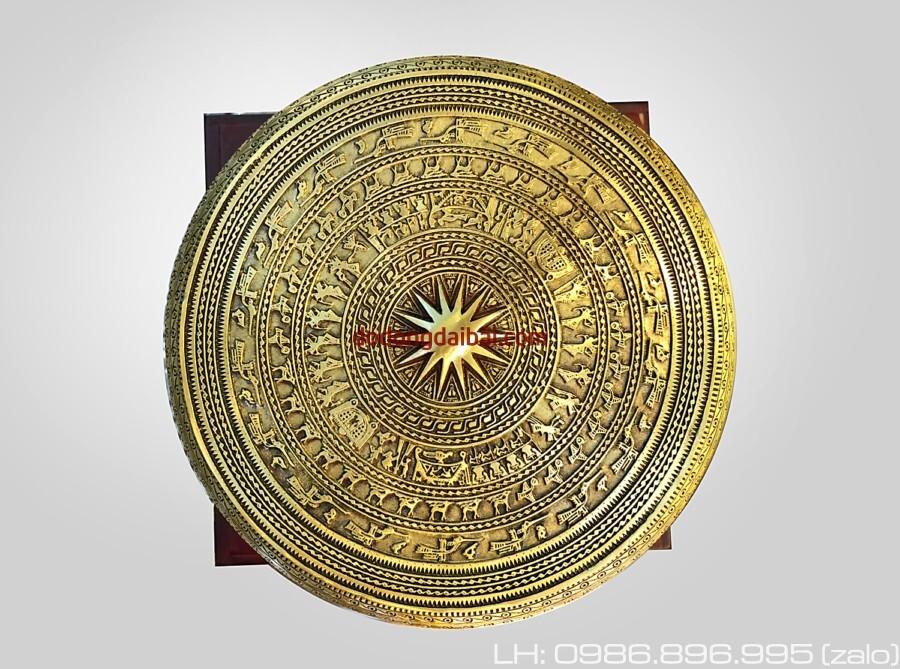 Trống đồng đường kính 15cm quà tặng văn hóa Việt dành cho đối tác