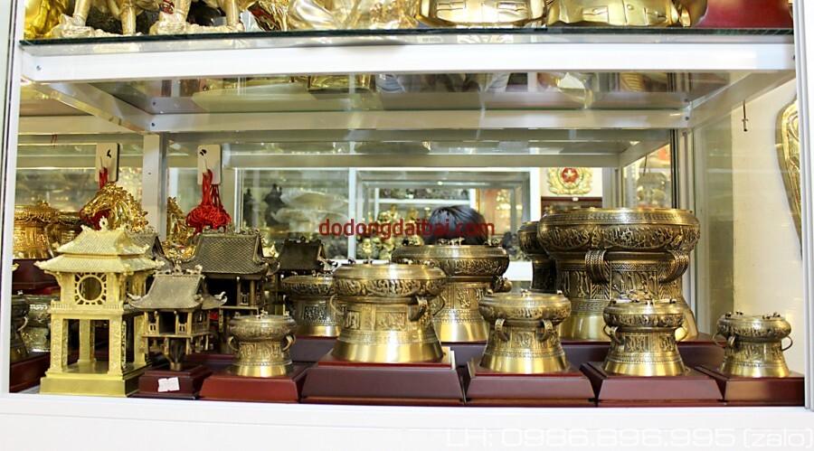 Sản xuất trống đồng, cung cấp trống đồng quà tặng, quà lưu niệm hội nghị
