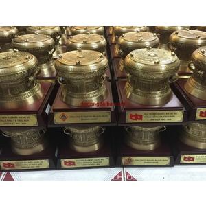 Trống đồng quà tặng 12cm cực đẹp,trống đồng Đông Sơn Ngọc Lũ Việt Nam