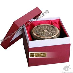 Trống đồng quà tặng 12cm, mô hình trống đồng Hùng Vương