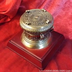 Trống đồng quà tặng ĐK 7cm,trống đồng Đông Sơn Ngọc Lũ Việt Nam