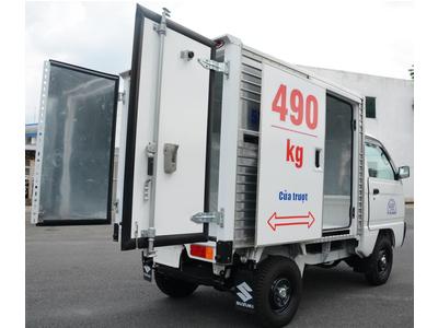 Suzuki CarryTruck 490kg thùng cửa lùa