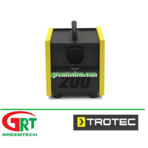 TTR 200   Trotec TTR 200   Máy hút ẩm   Desiccant dehumidifier   Trotec Vietnam