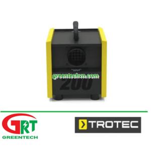 TTR 300   Trotec TTR 300   Máy hút ẩm   Desiccant dehumidifier   Trotec Vietnam