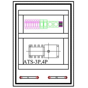 Tủ ATS-3P-200A SLGD