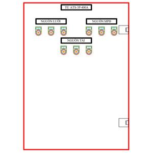Tủ ATS-3P-400A SLGD