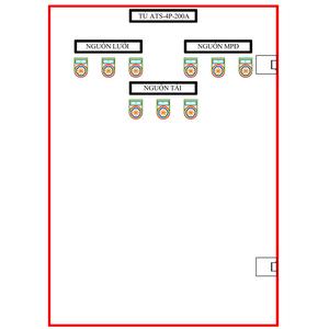 Tủ ATS-4P-200A SLGD