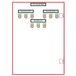 Tủ ATS-4P-400A SLGD