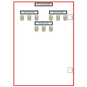 Tủ ATS-4P-600A SLGD