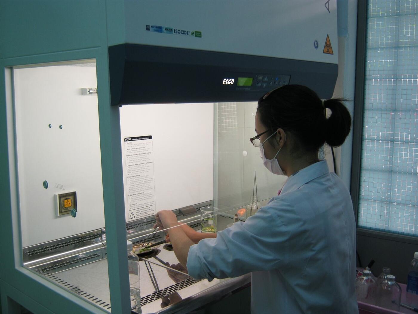 Sửa chữa tủ cấy vi sinh