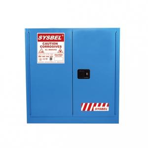Tủ chứa dung môi gây ăn mòn 30 Gallon – 114 lít, cửa tự đóng,hãng sysbel Model: WA810301B