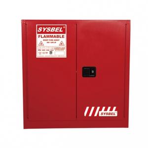 TỦ CHỨA DUNG MÔI GÂY CHÁY - SYSBELL - WA810300R – 30 Gallon/114L