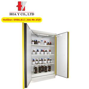 Tủ chứa hóa chất chống cháy 90 phút 220 lít theo tiêu chuẩn EN14470-1 ECOSAFE 795+M22
