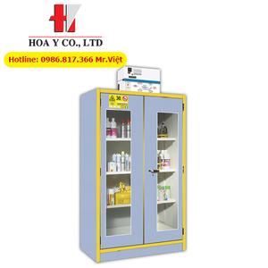 Tủ chứa hóa chất chống cháy EN 14470-1 FM 6050 ECOSAFE 3034PVE 130 lít