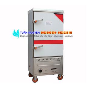 Tủ cơm công nghiệp 10 khay gas