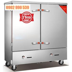 Tủ cơm công nghiệp 24 khay gas điện
