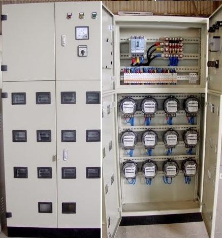 tủ điện công tơ đo đếm điện năng