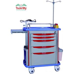 Tủ Đẩy Tiêm Thuốc Cấp Cứu TJM-TC02