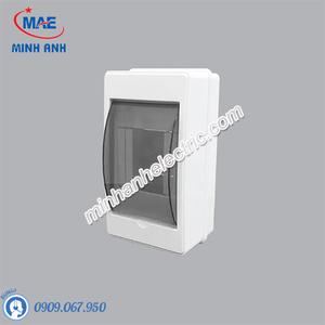 Tủ điện âm tường chứa MCB TN-2