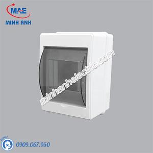 Tủ điện âm tường chứa MCB TN-4