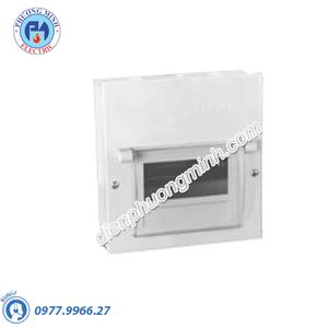 Tủ điện âm tường, vỏ kim loại chứa 2 MCB - Model EMC2PL