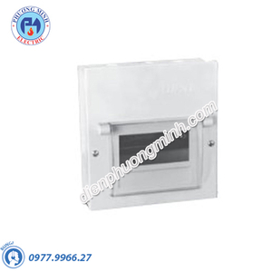 Tủ điện âm tường, vỏ kim loại chứa 9 MCB - Model EMC9PL