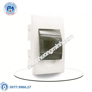 Tủ điện nhựa âm tường chứa 4 MCB - Model EZ9E0104