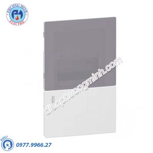 Tủ điện nhựa âm tường, cửa mờ chứa 4 MCB - Model MIP22104T
