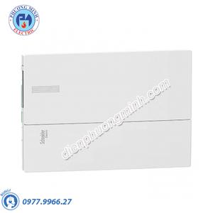 Tủ điện nhựa âm tường, cửa trơn chứa 18 MCB - Model MIP22118