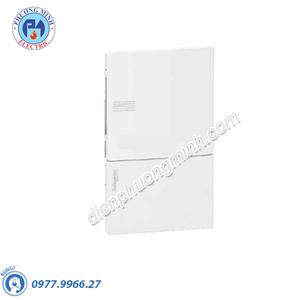 Tủ điện nhựa âm tường, cửa trơn chứa 4 MCB - Model MIP22104