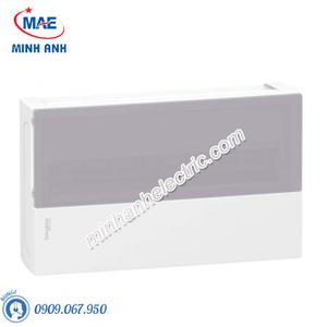 Tủ điện nhựa nổi, cửa mờ chứa 18 MCB - Model MIP12118T