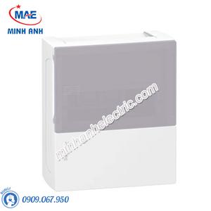 Tủ điện nhựa nổi, cửa mờ chứa 8 MCB - Model MIP12108T