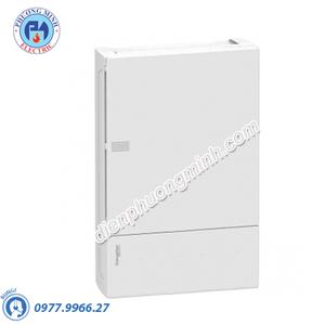 Tủ điện nhựa nổi, cửa trắng chứa 4 MCB - Model MIP12104