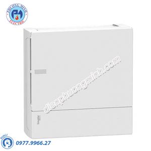 Tủ điện nhựa nổi, cửa trắng chứa 8 MCB - Model MIP12108