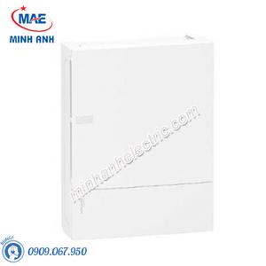 Tủ điện nhựa nổi, cửa trơn chứa 24 MCB - Model MIP12212