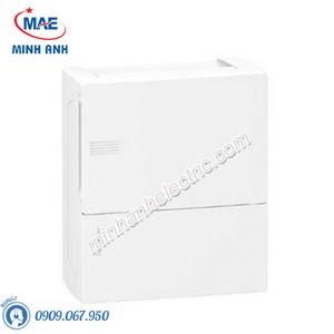 Tủ điện nhựa nổi, cửa trơn chứa 8 MCB - Model MIP12108