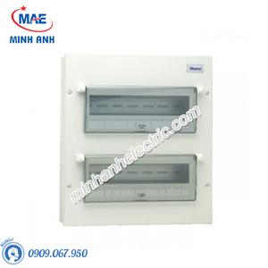 Tủ điện vỏ kim loại chứa 26 module - Model FDP126