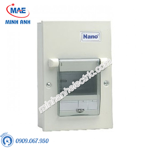 Tủ điện vỏ kim loại chứa 4 module - Model FDP104