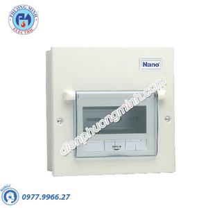 Tủ điện vỏ kim loại chứa 6 module - Model FDP106