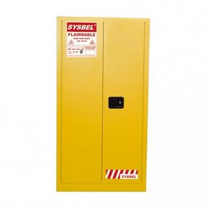 Tủ đựng hóa chất chống cháy 60 Gallon – 227 lít, cửa tự đóng,hãng sysbel Model: WA810601