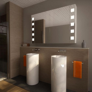 Tủ gương đèn led chữ nhật Citybuilding CBJ612L