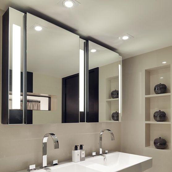 Tủ gương đèn led chữ nhật Citybuilding CBJ616L