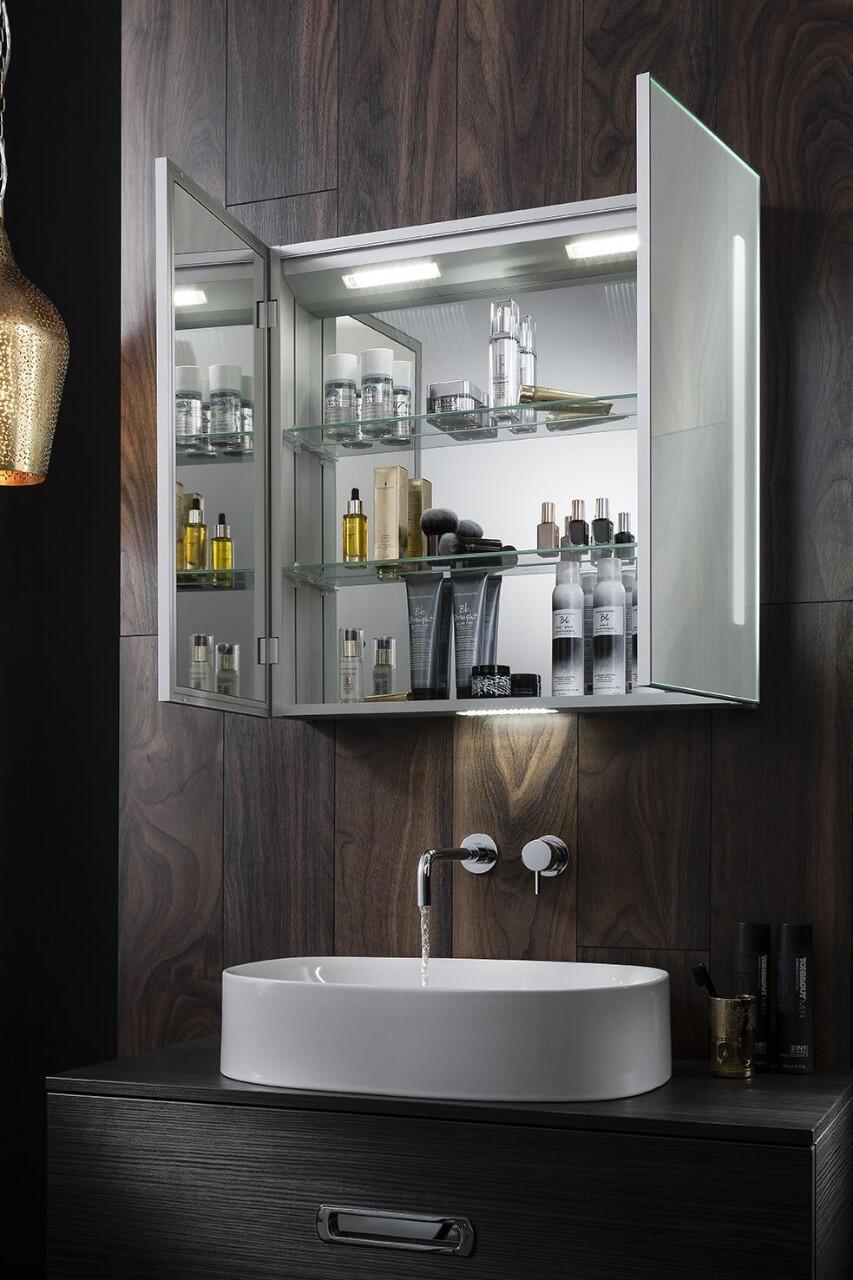 Tủ gương đèn led chữ nhật Citybuilding CBJ68LC