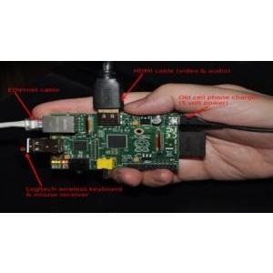 Tự láp ráp máy tính tí hon giá cực rẻ Raspberry Pi