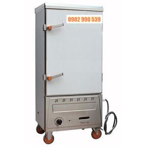 Tủ nấu cơm 10 khay gas + điện