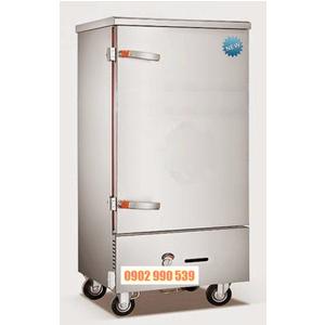 Tủ nấu cơm 12 khay điện-gas