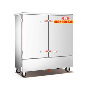 Tủ nấu cơm 20 khay kết hợp gas + điện