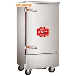 Tủ nấu cơm công nghiệp 10 khay dùng điện