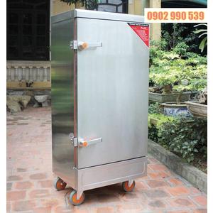 Tủ nấu cơm công nghiệp 10 khay dùng Gas