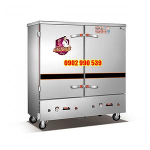 Tủ nấu cơm công nghiệp 20 khay dùng gas